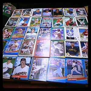 A Large Collection OF SPORTS CARDS